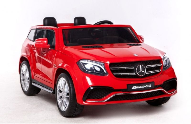 elektrisches kinderauto mercedes amg gls63 in rot kid cars. Black Bedroom Furniture Sets. Home Design Ideas