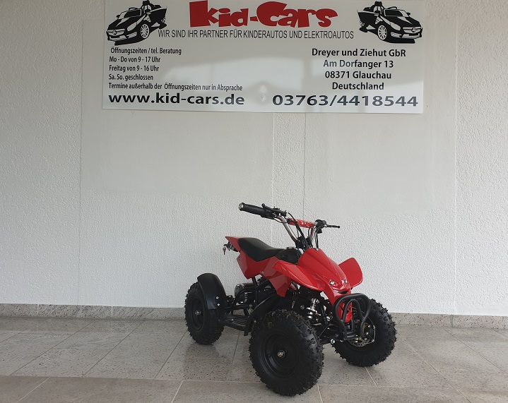 Quad für Kinder Elektroquad ATV in rot